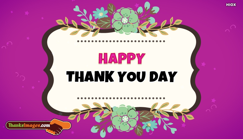 Thank You Images for Thank You Day