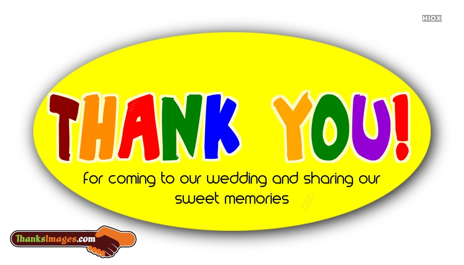 Best Thank You Wedding Images