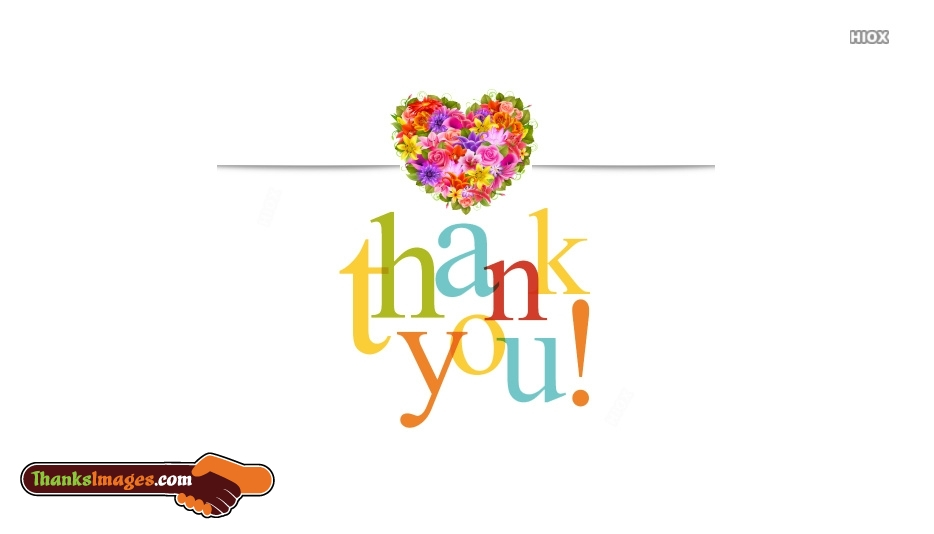 Colorful Thank You Card Images