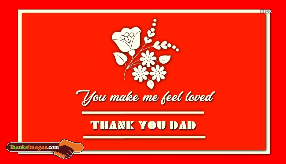Thank You Dad From Daughter