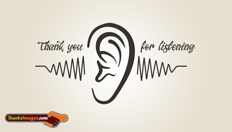 thank you for listening thanksimages com