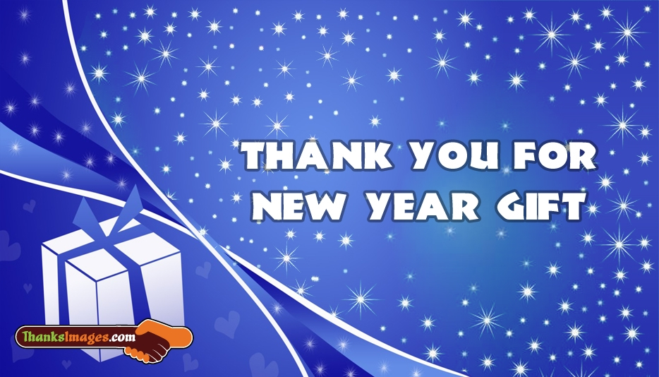 Thank You For New Year Gift - Thanks Images for Gift