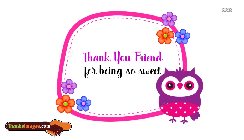 Sweet Thank You Images, Pictures