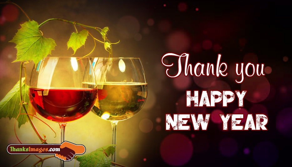 Thank You Happy New Year - Thanks Images for Friends