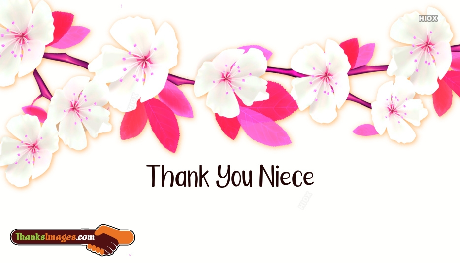 Thank You Images For Niece