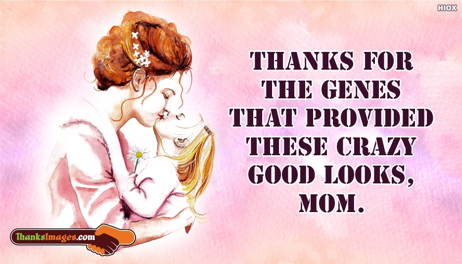 Thank You Mom Quotes Image