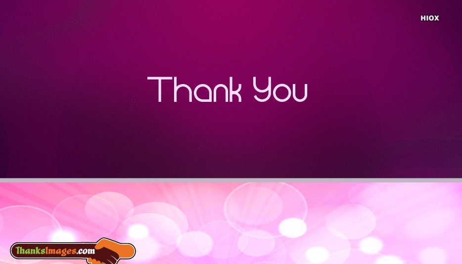 Thank You Purple Image