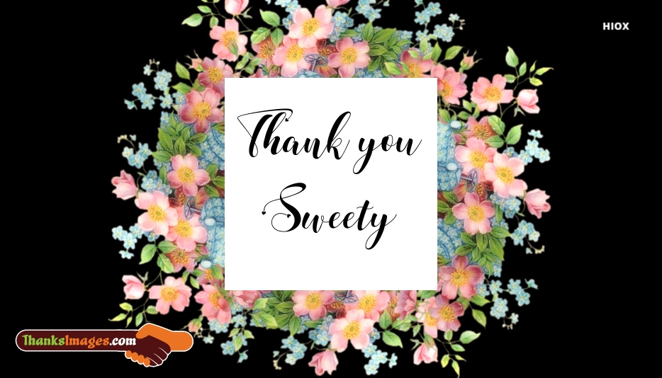 Thank You Images for Sweetheart