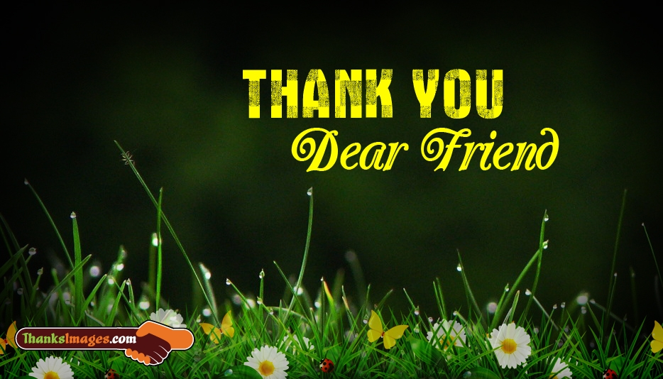 Thank You to a Friend - Thanks Images for Friends
