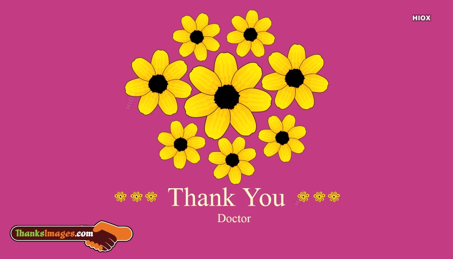 Thank You Images For Doctors   Thanks Doctor Images