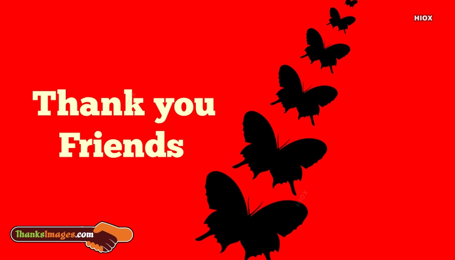 Thank You To Friends