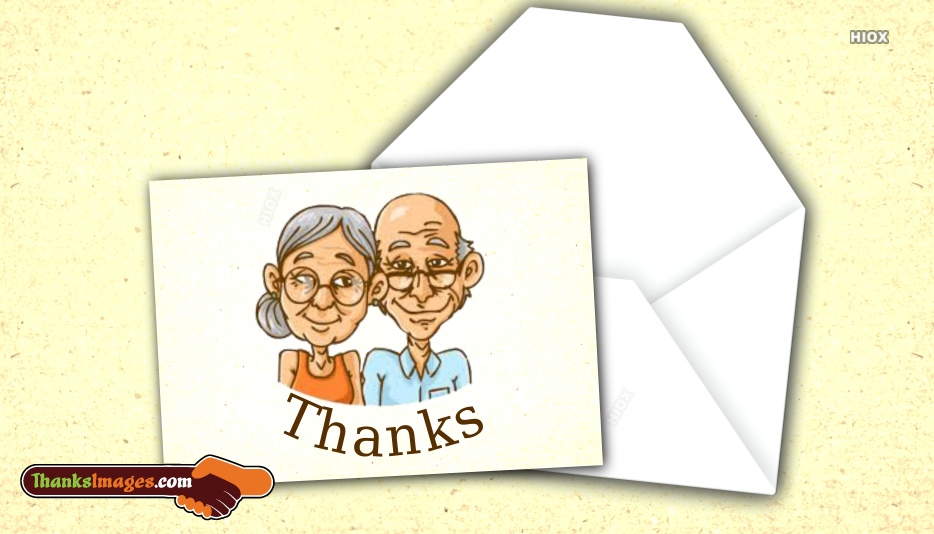 Thank You To Grandparents