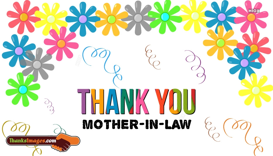 Thank You Images for Mother In Law