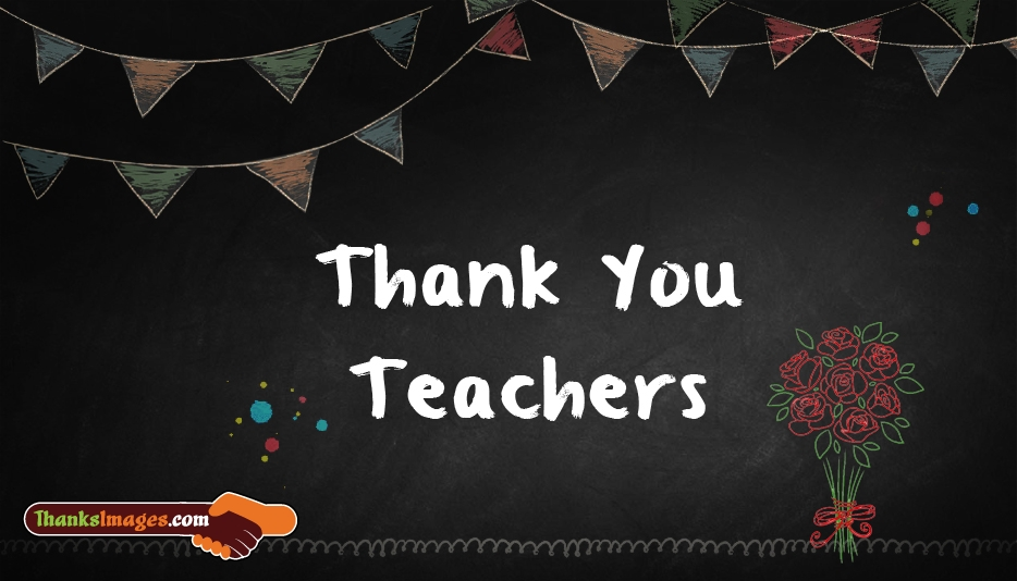 Thank You Images for Teacher