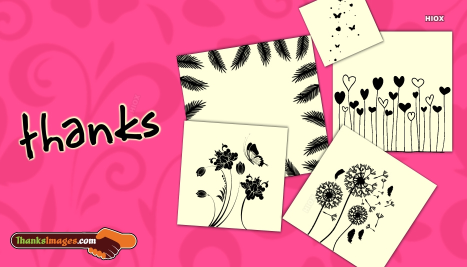 Thanks Cards Images