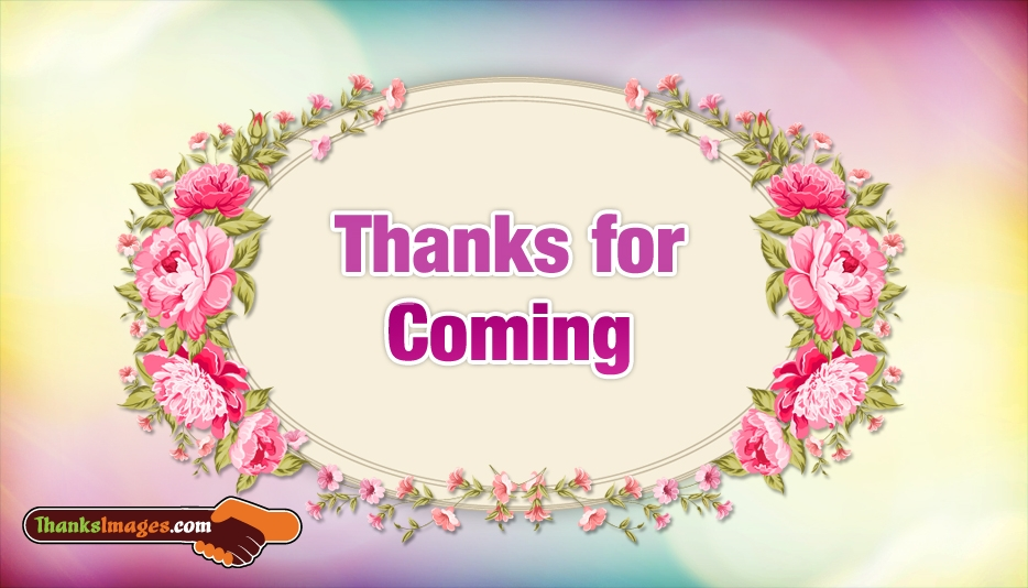 Thanks For Coming - Thank You Images For Sweetheart