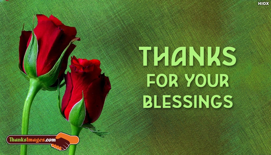 Thanks For Your Blessings - Thanks Images for Mom