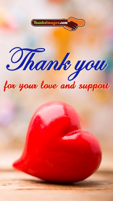 Thanks For Your Love