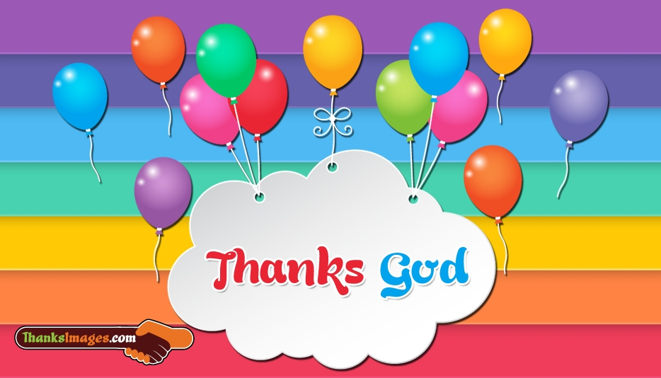 Thanks God - Thanks Images for Whatsapp