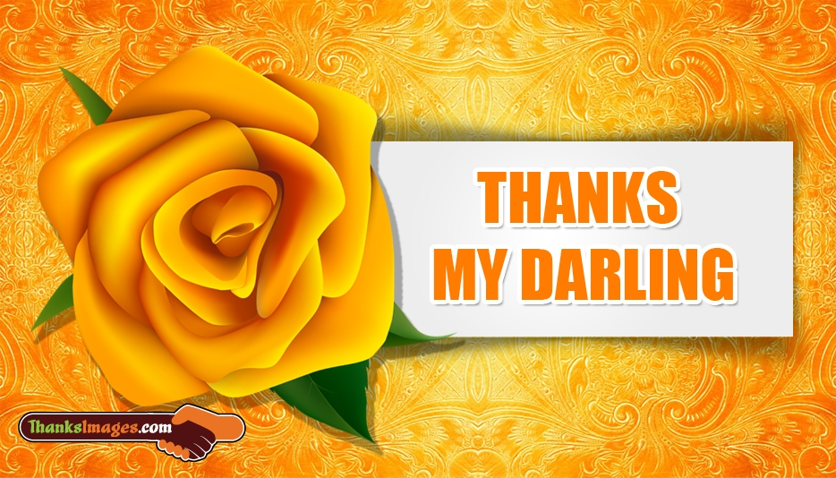 Thanks Images for Darling | Thank You Images for Darling
