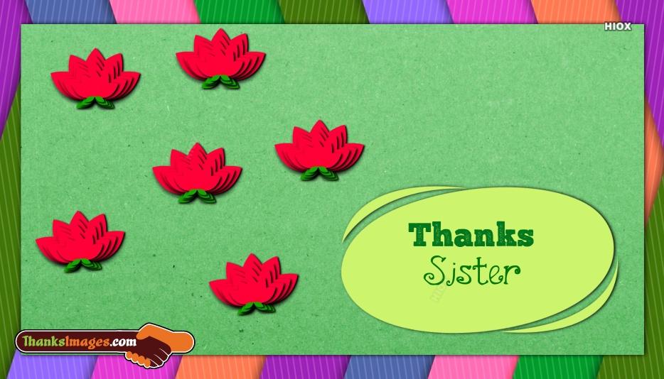 Thanks Sister