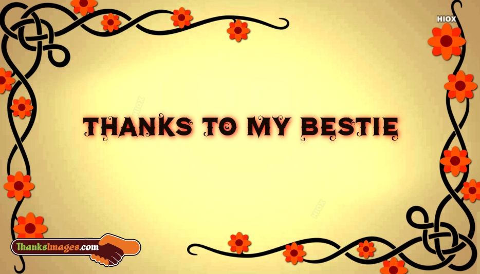 Thanks Bestie Images | Thank You Bestie Images