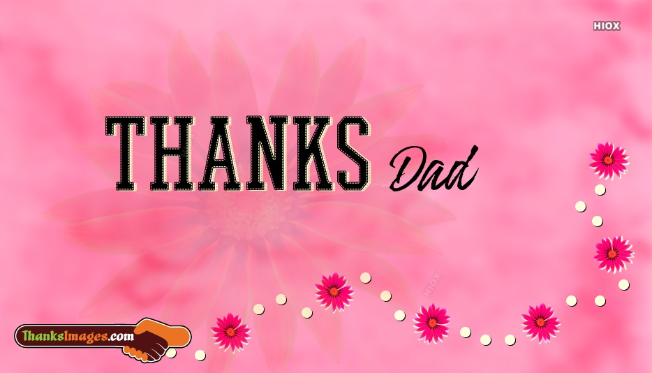 Thank You Images for Dad
