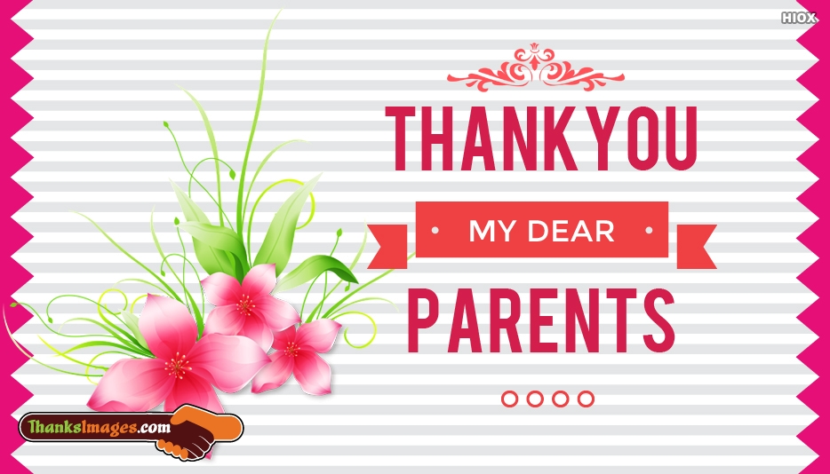 Thank You Images For Parents
