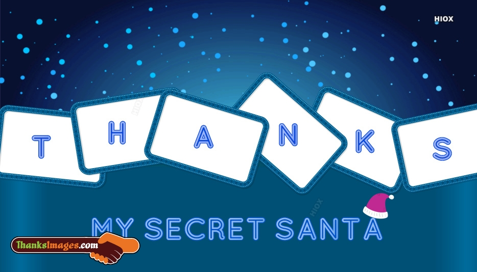 thank you santa for the gift
