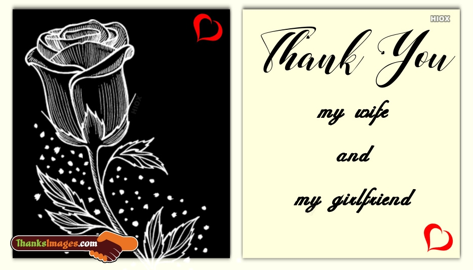 Thank You Quotes For Wife: Thank You Images For Wife