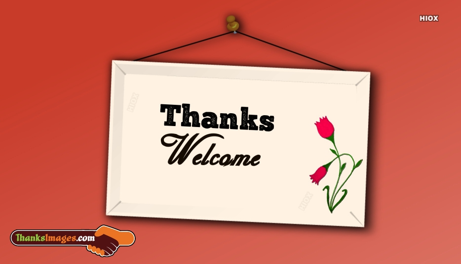Thank You Images for Welcome