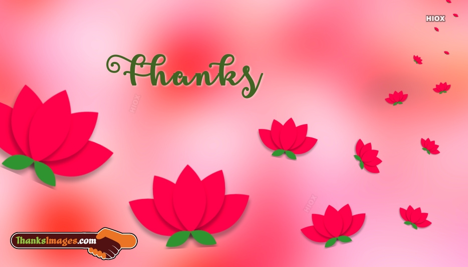 Thank You Images for Flower