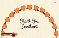 Dp Of Thanking A Sweetheart