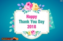 Happy Thank You Day 2018