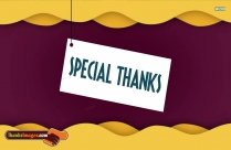 Special Thanks Images
