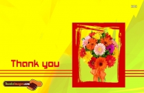 Thank You Flower Bouquet Images