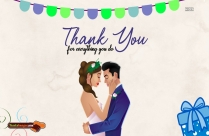 Romantic Thank You Messages