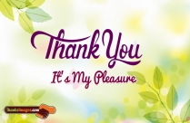 Thank You It\