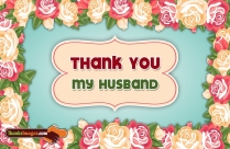 Thank You My Husband