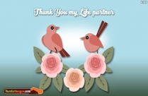 Thanks My Love Greetings