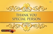Thank You Special Person