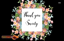 Thank You Sweety