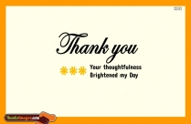 Thank You Quote For Birthday Wishes
