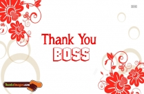 Thank You To Your Boss