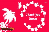 Thank You To A Nurse