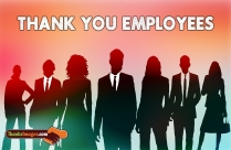 Thank You To Employees