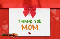 Thank You To Mom