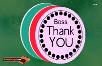 Thanks Quotes For Boss