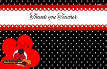 Thank You To Teacher From Parent