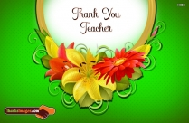 Thanks To My Teacher